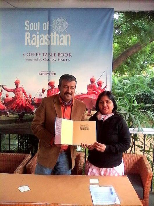 Launch of Soul of Rajasthan, a coffee table book