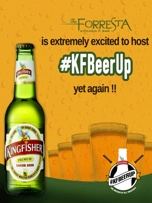 Kingfisher Beer Up