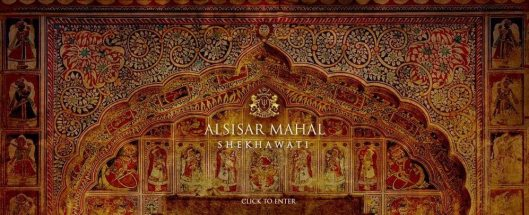 Alsisar Mahal New Landing Page