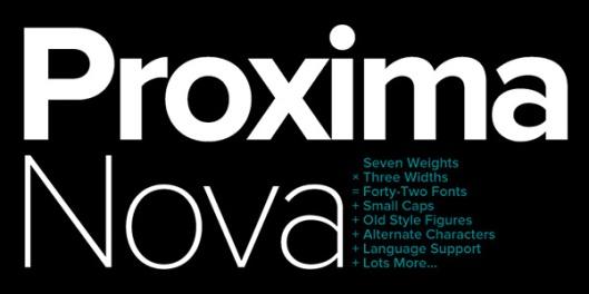 Proxima-Nova